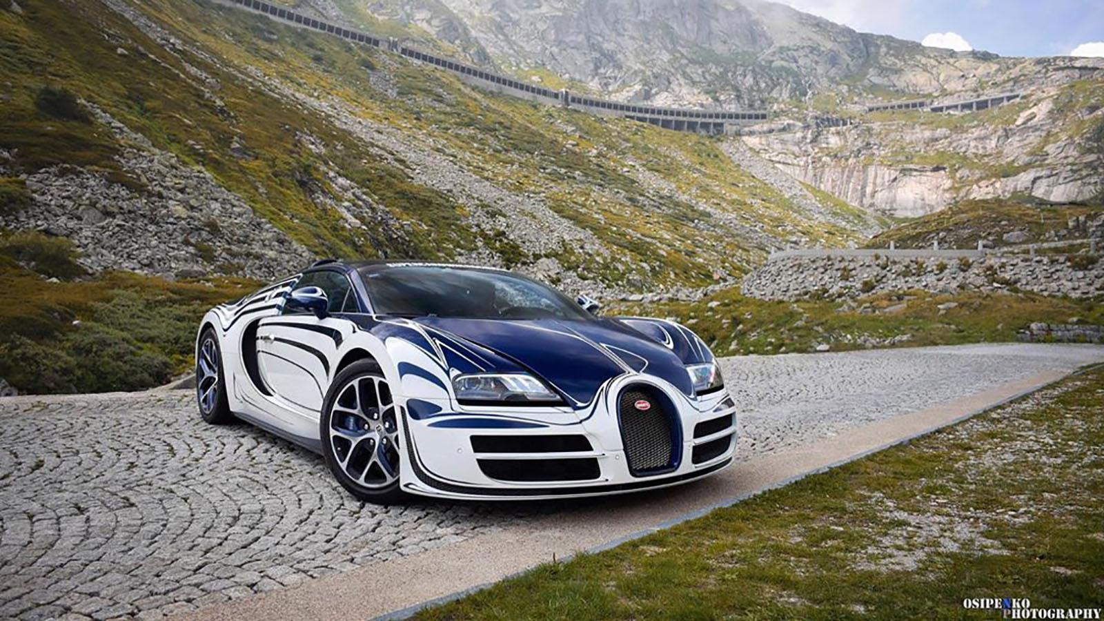 Bugatti Veyron Grand Sport Vitesse LOr Blanc