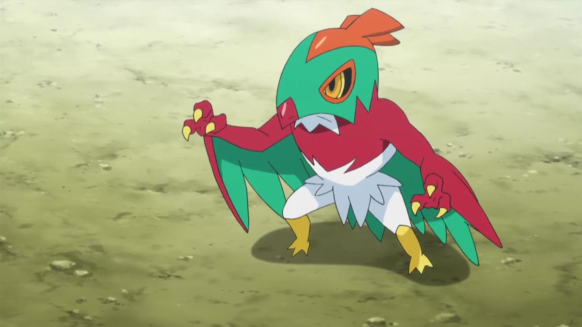 Ash's Hawlucha Pokemon