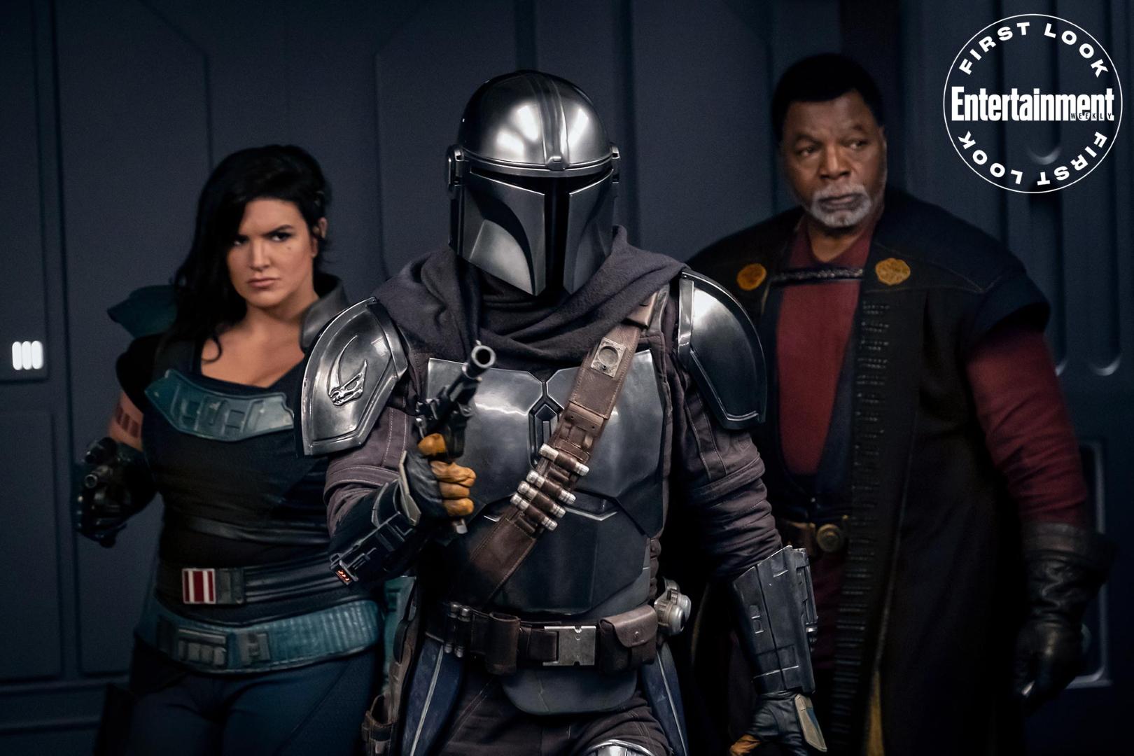 The Mandalorian, Cara Dune, and Greef Karga could split time as lead characters in The Mandalorian Season 2.