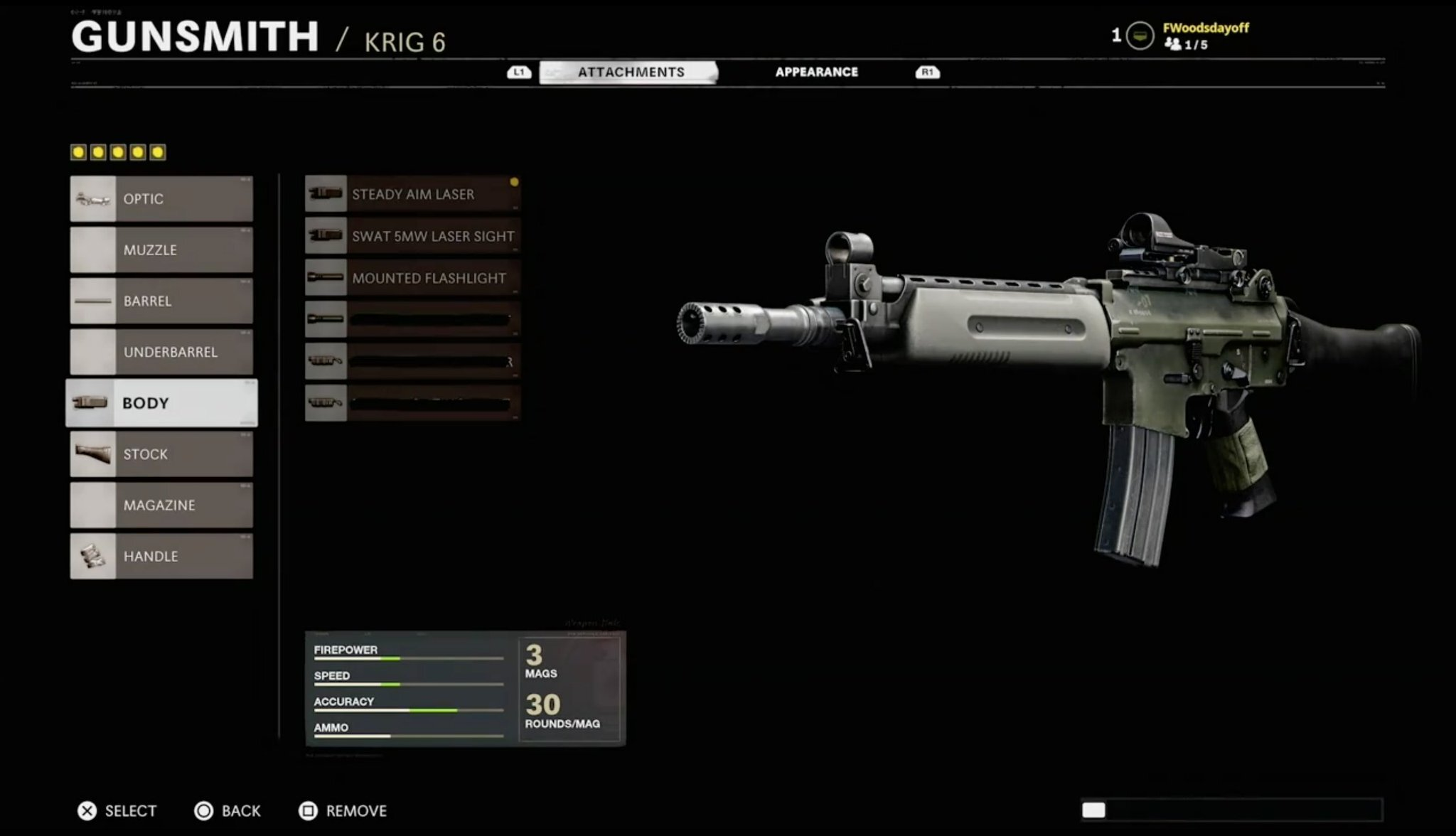 Black Ops Cold War gunsmith