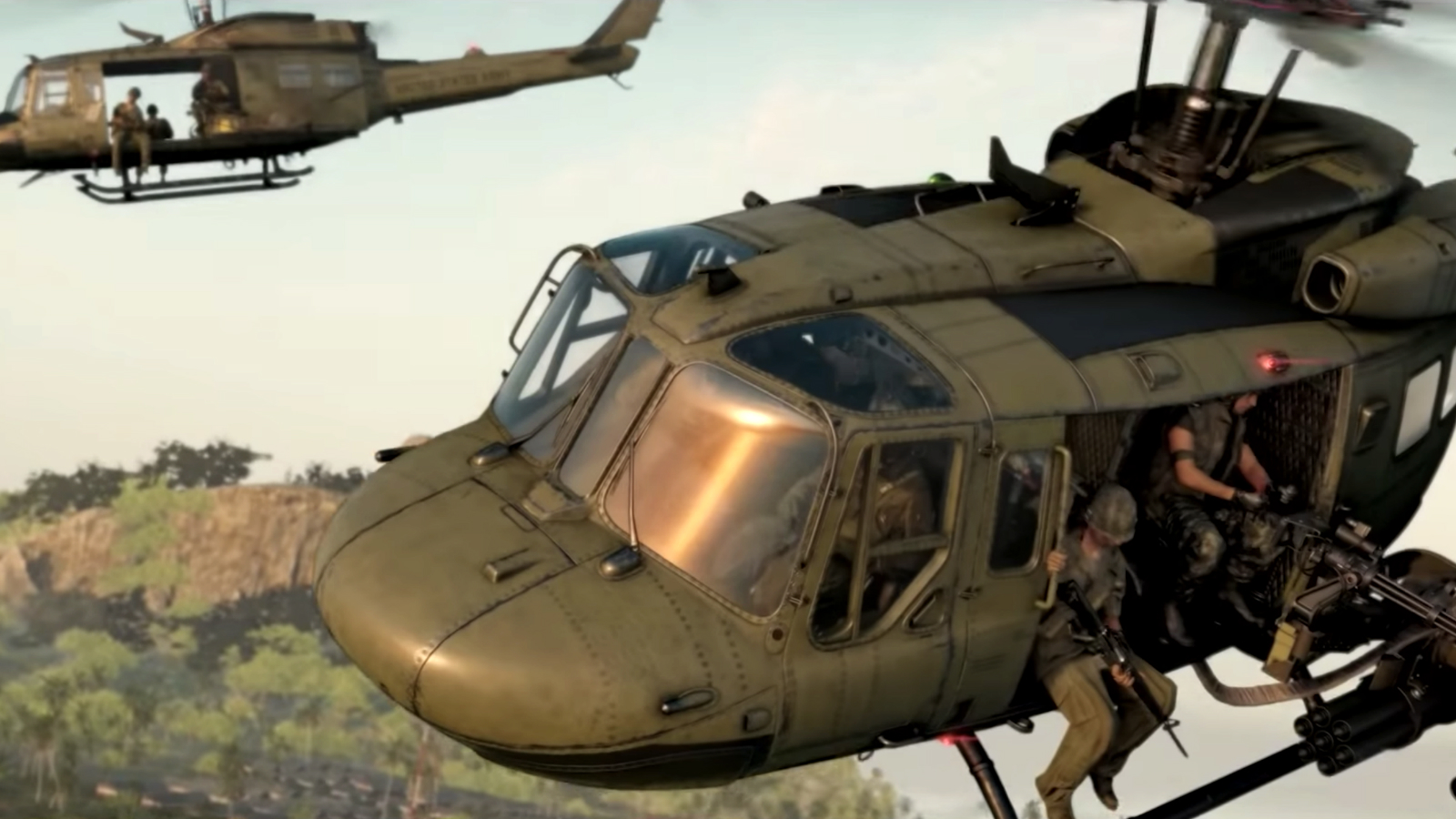 Choppers in Black Ops Cold War