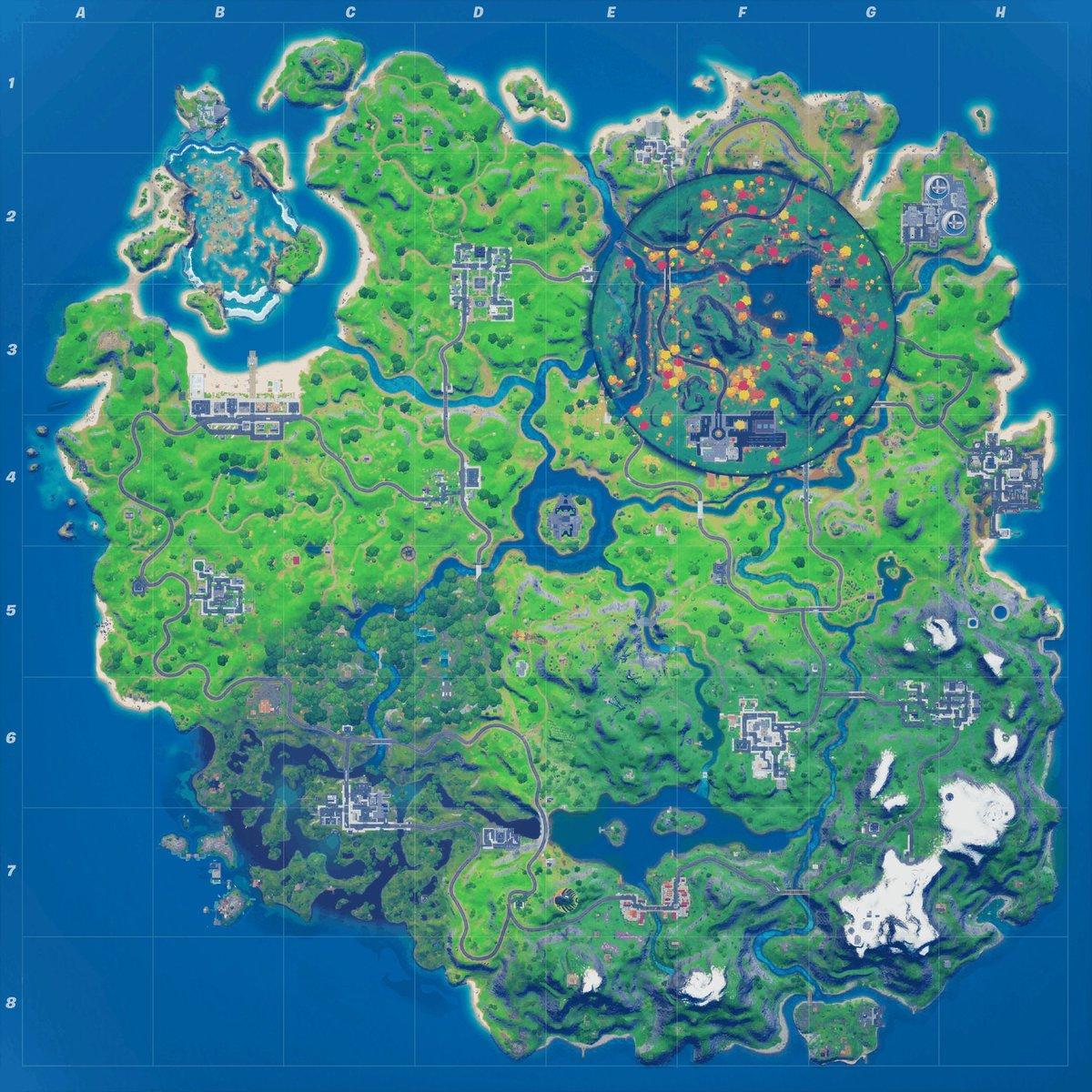 Fortnite map 14.10