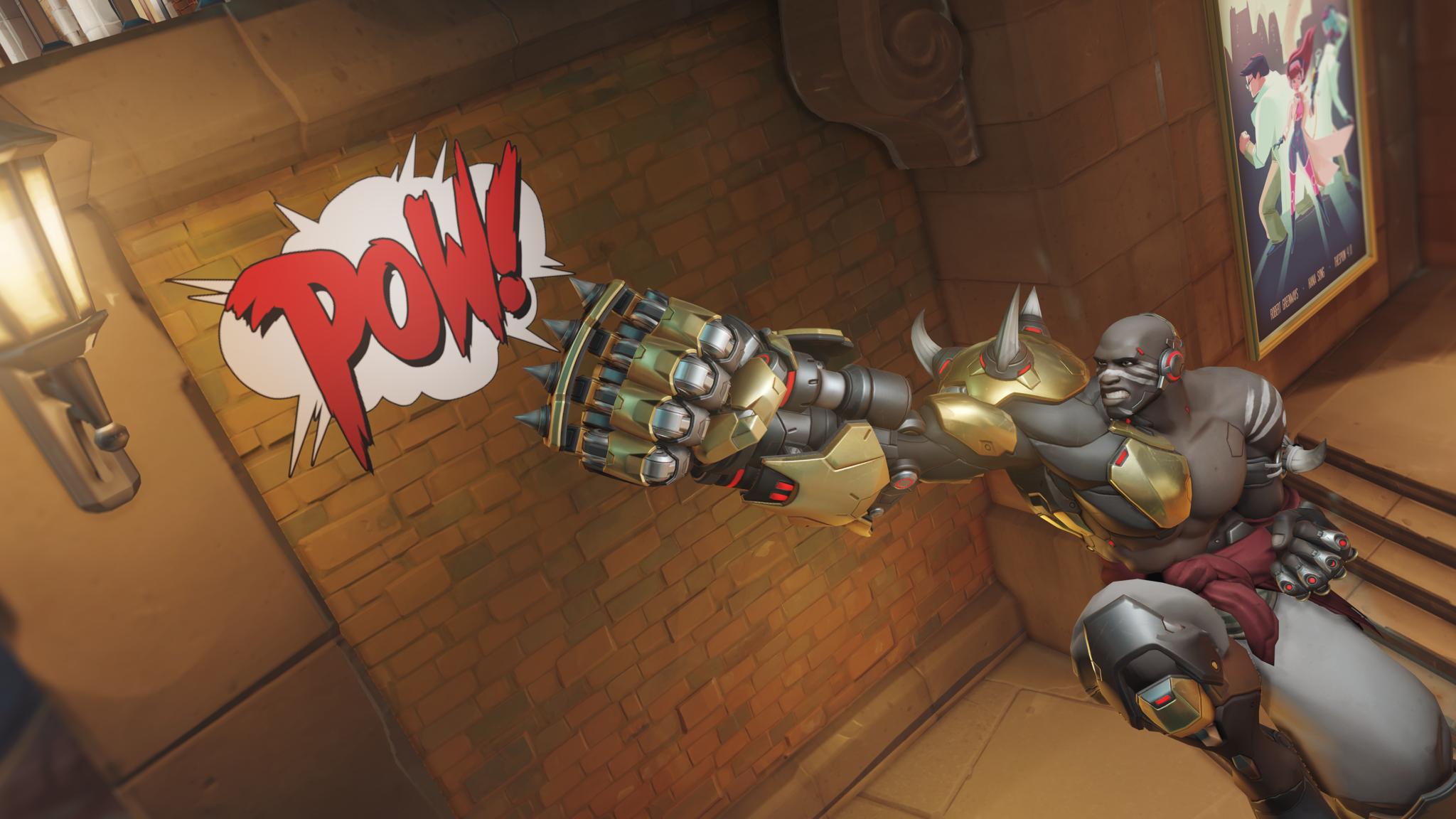 Overwatch Doomfist Spray