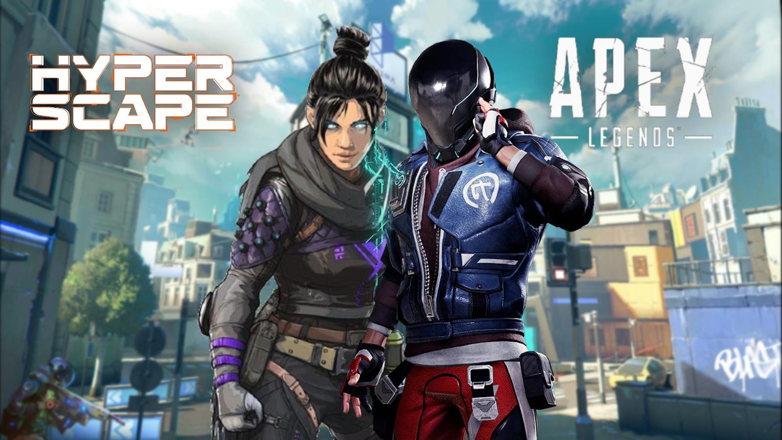 Hyper Scape Apex Legends crossover