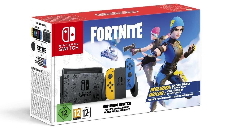 Fortnite Nintendo Switch Wildcat Pack