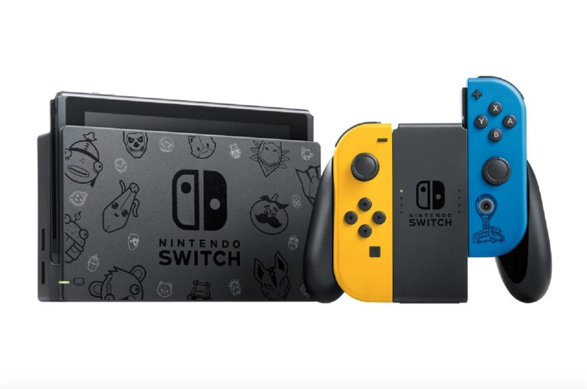Fortnite Nintendo Switch design