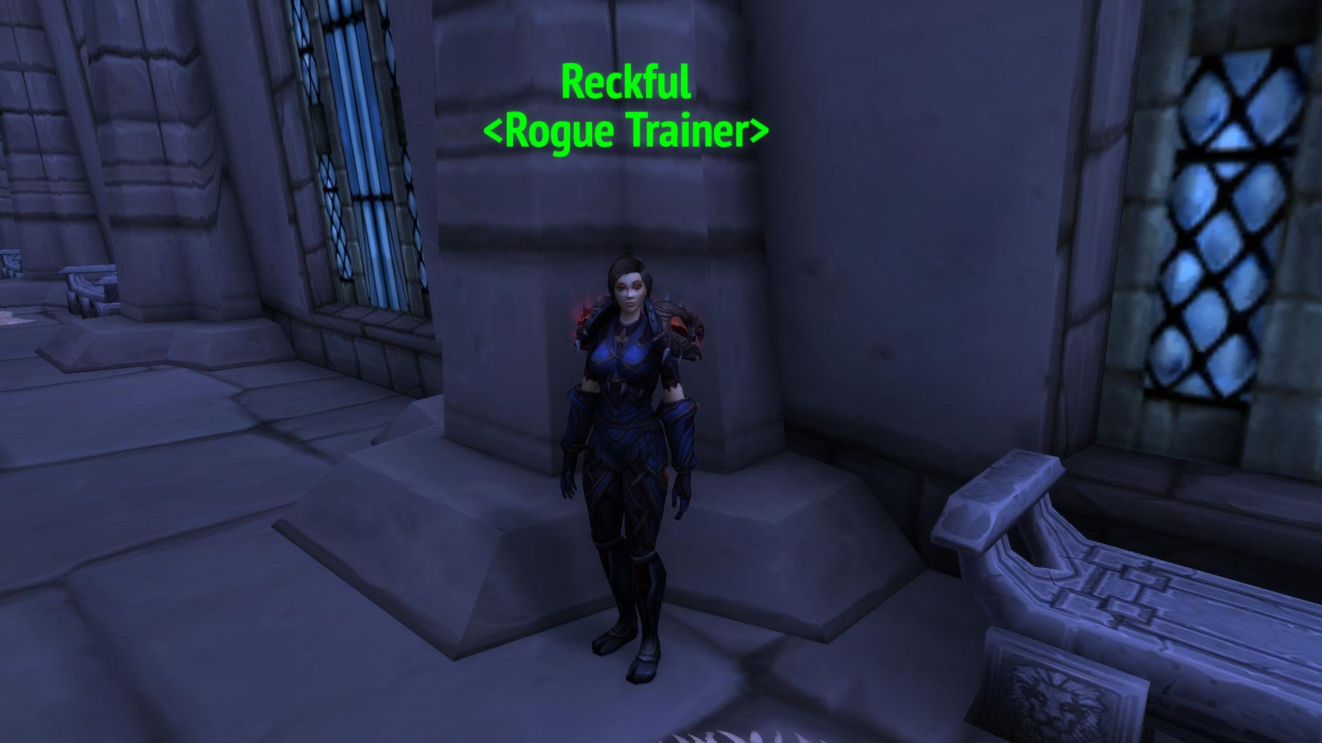 Reckful NPC in World of WarCraft