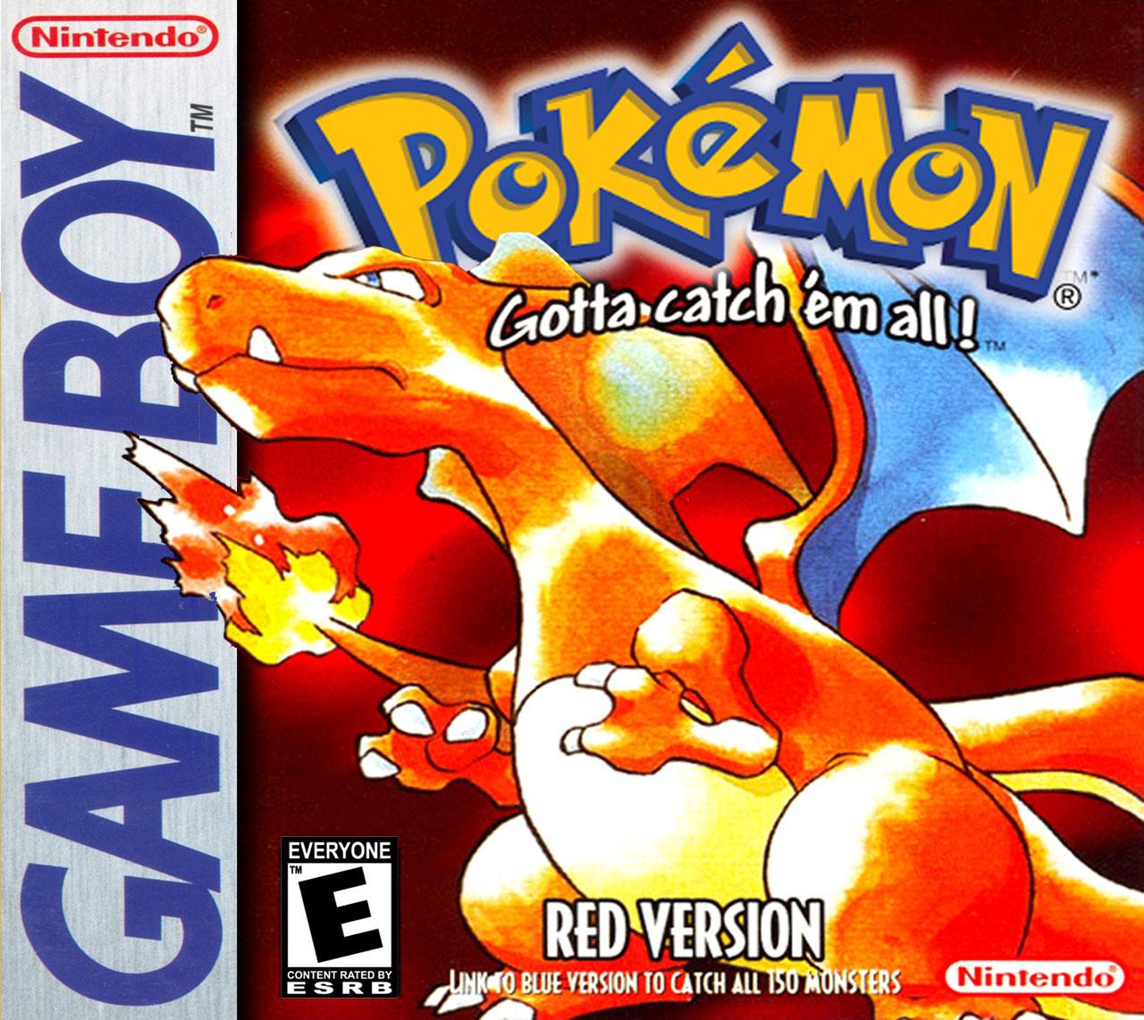 Pokemon Red on Gameboy