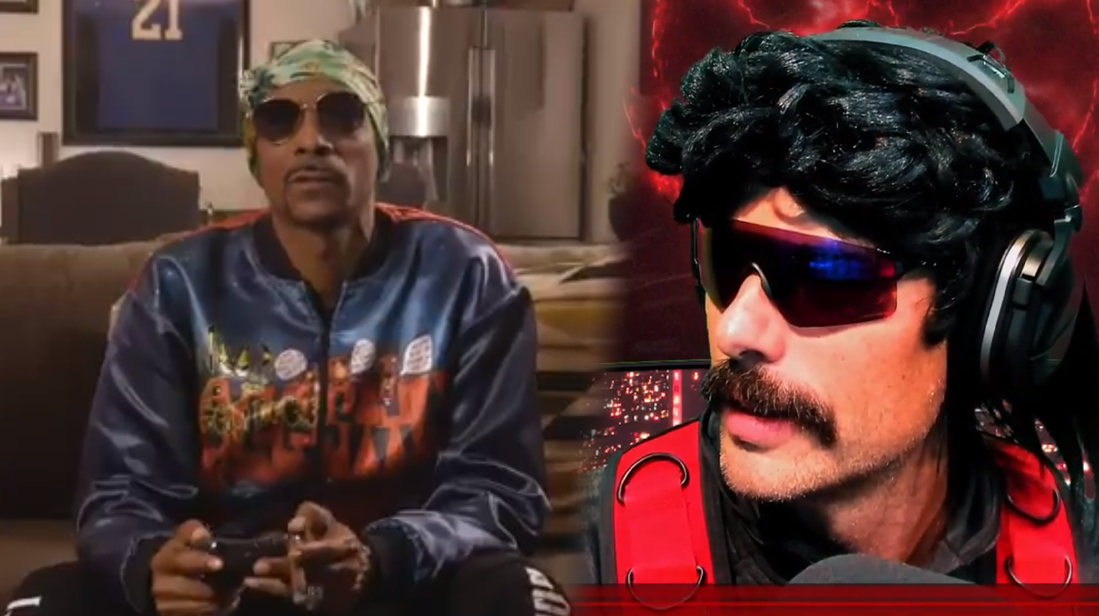 Snoop Dogg playing games with Dr Disrespect