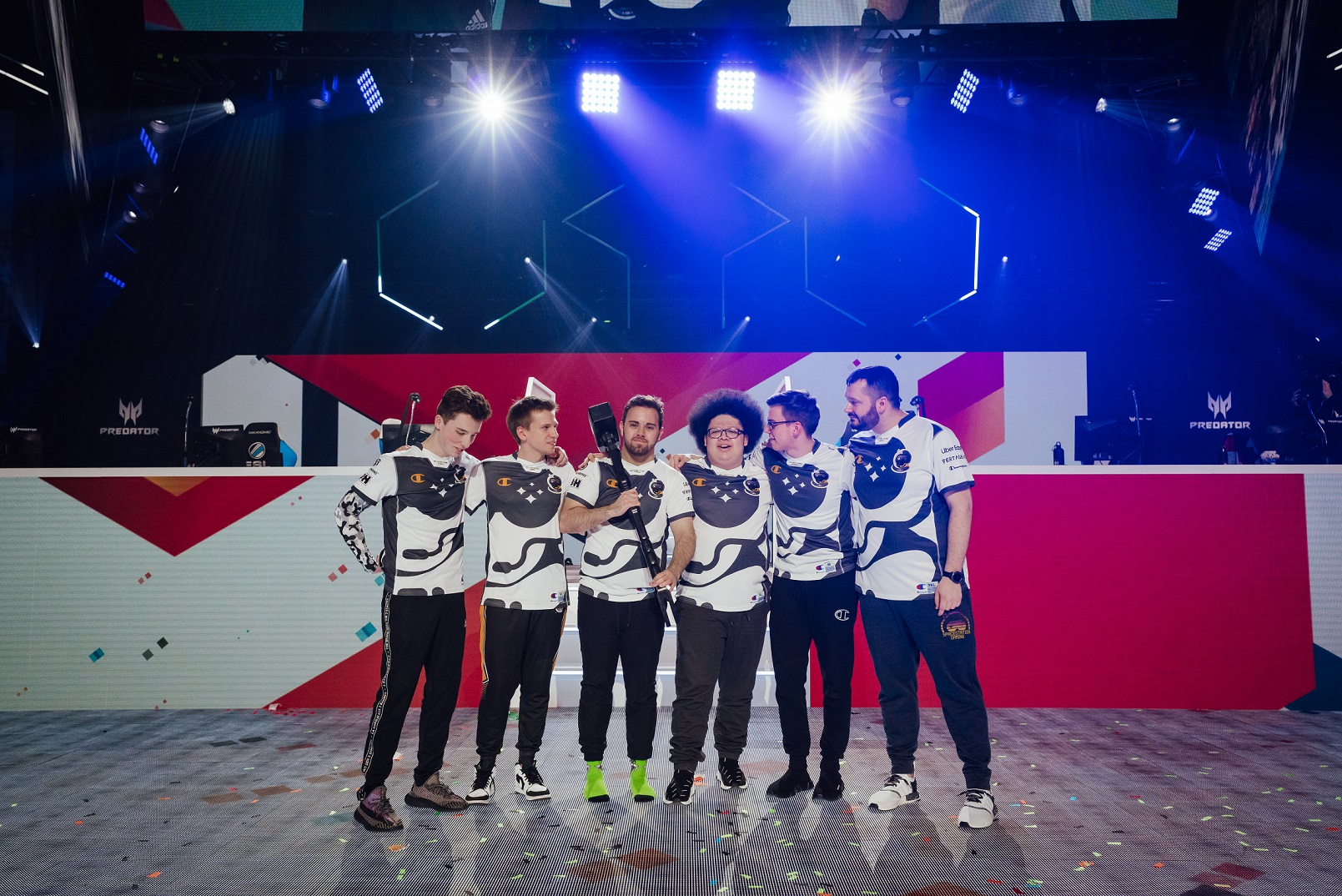 Spacestation Gaming after winning Six Invitational 2020