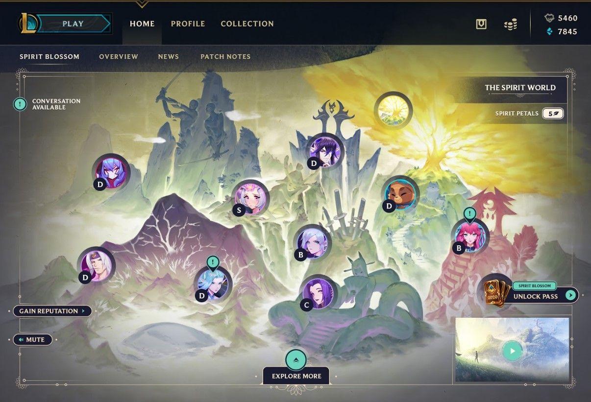 Spirit Bonds in League of Legends