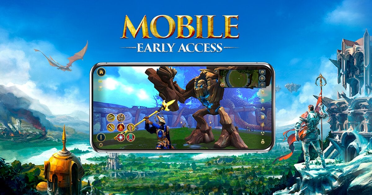 Runescape on mobile phone