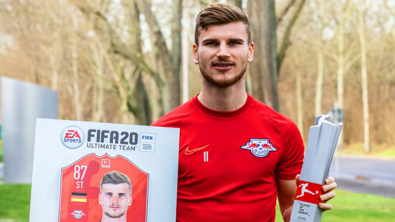 Timo Werner EA Sports