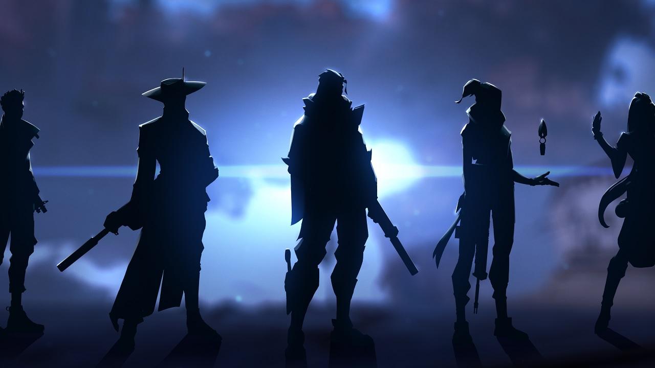 Valorant Agent silhouettes.