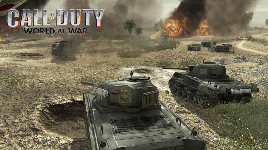 Tanks in Call of Duty: World at War