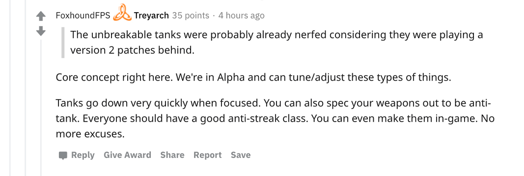 Josh Torres' response to Tank concerns