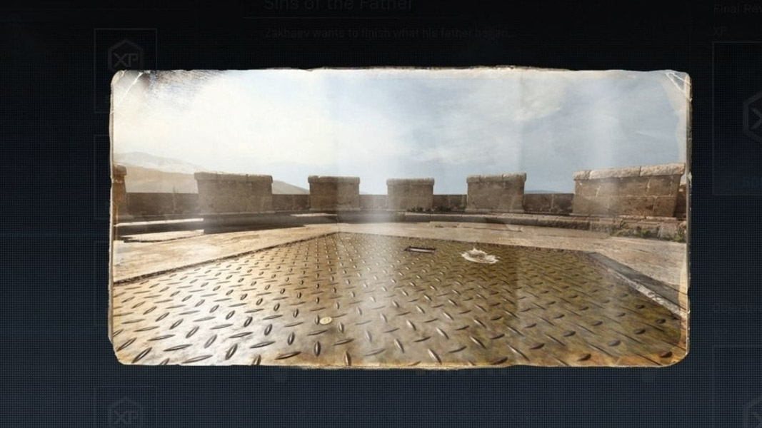 Screenshot of the Prison location in Warzone