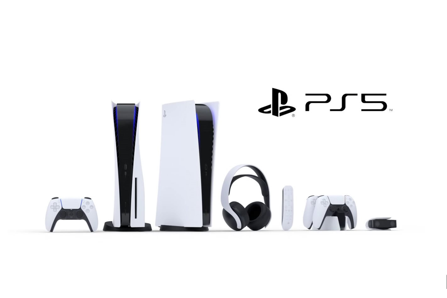 Playstation 5 consoles and controllers