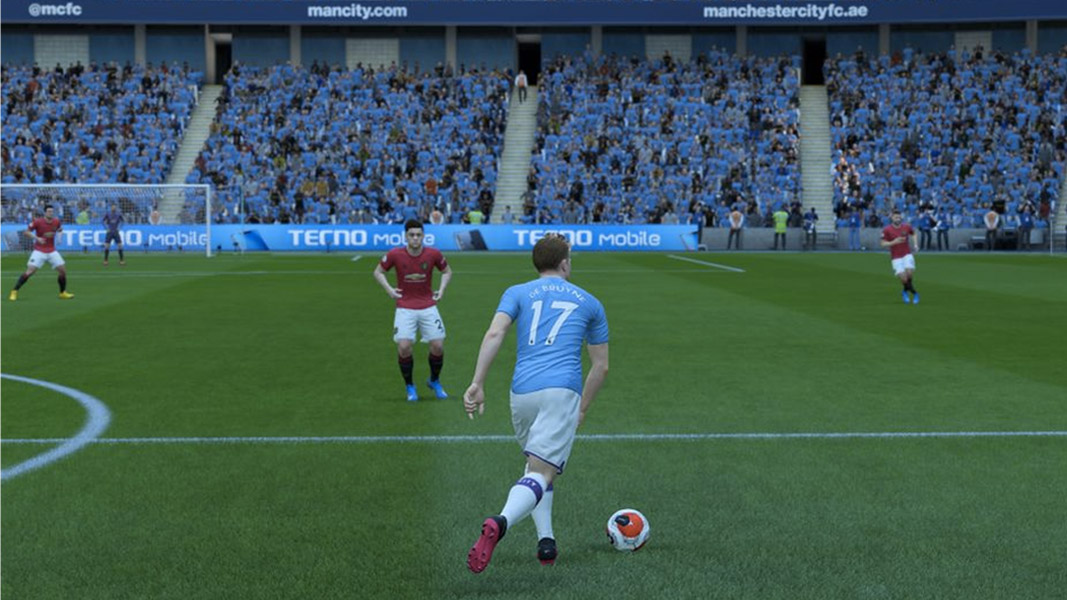 Kevin De Bruyne on the ball fifa