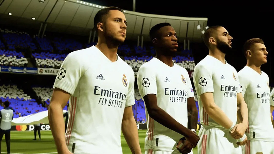 Eden Hazard and Real Madrid in FIFA