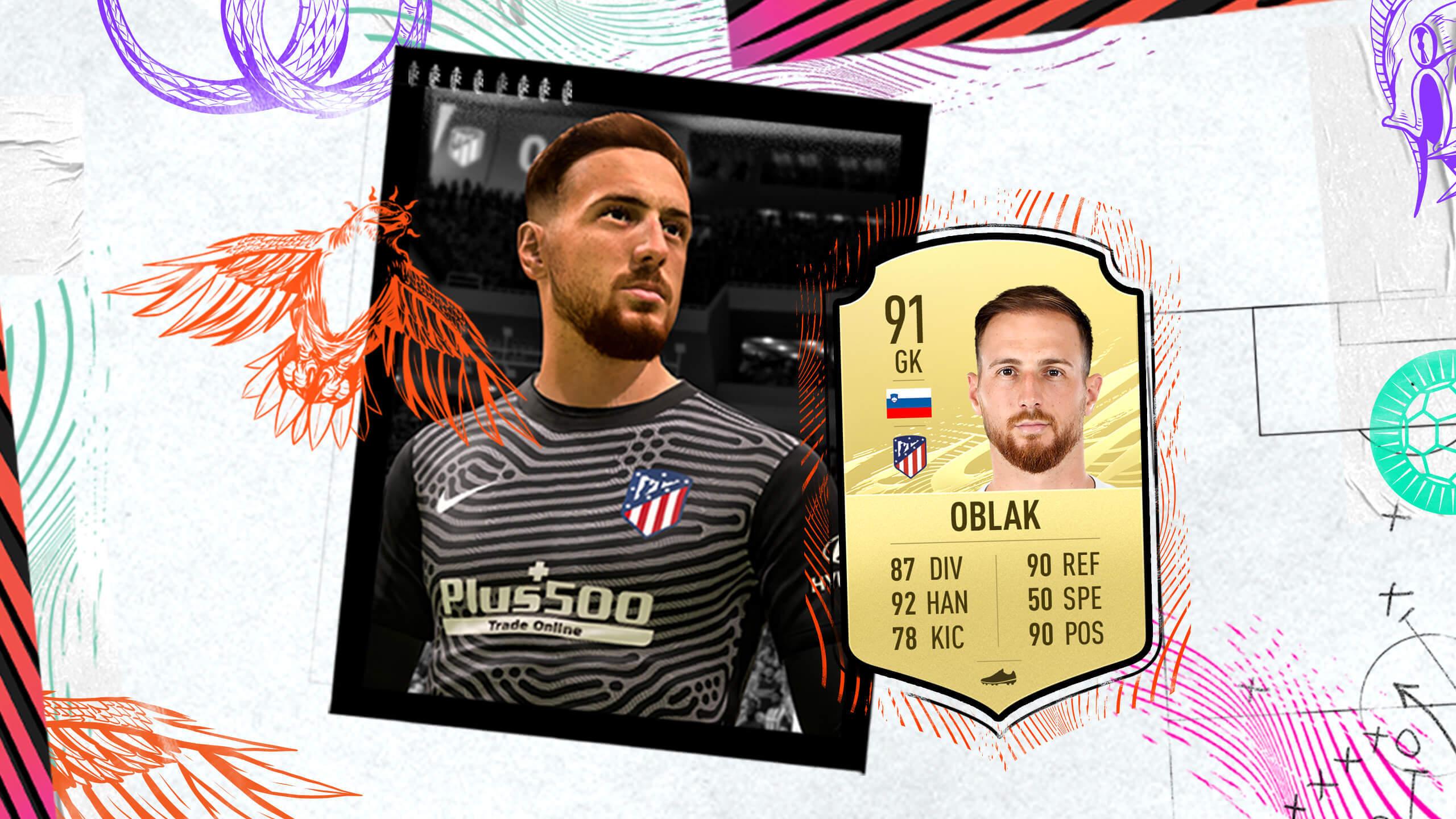 Jan Oblak FIFA 21