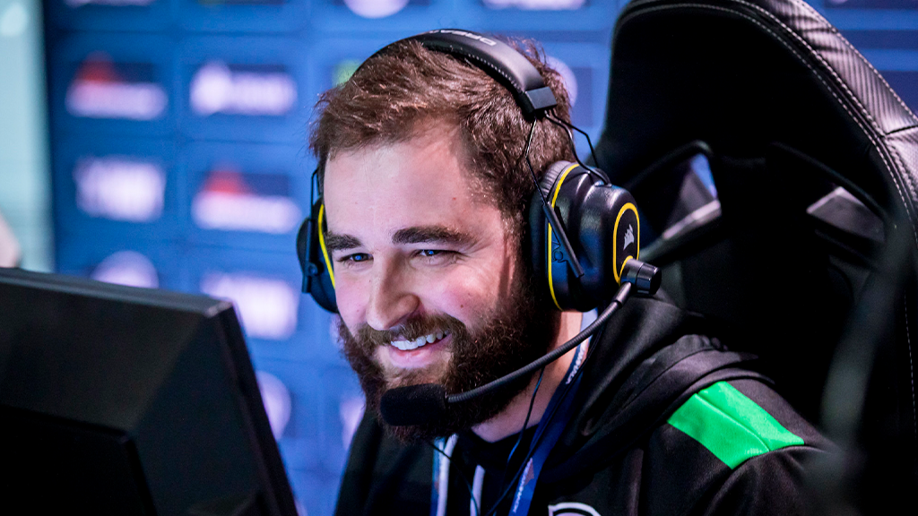 Fallen playing for MIBR at Dreamhack Anaheim 2020