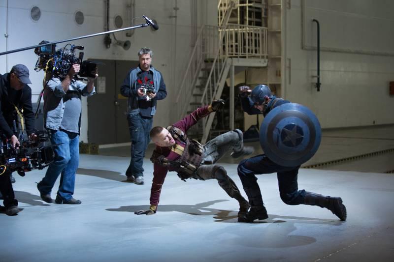 GSP vs Captain America