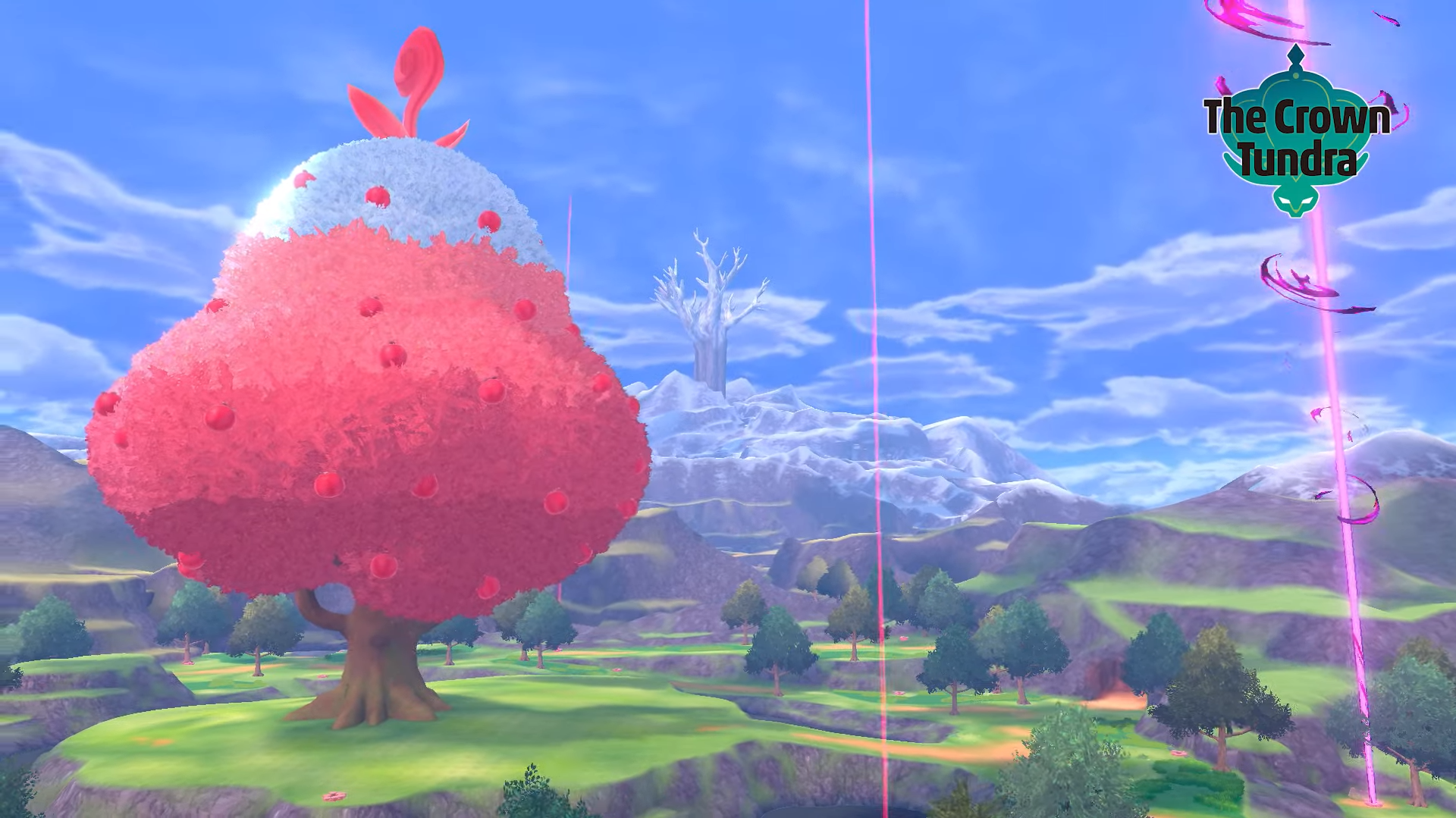 Crown Tundra leak in Pokemon Sword and Shield