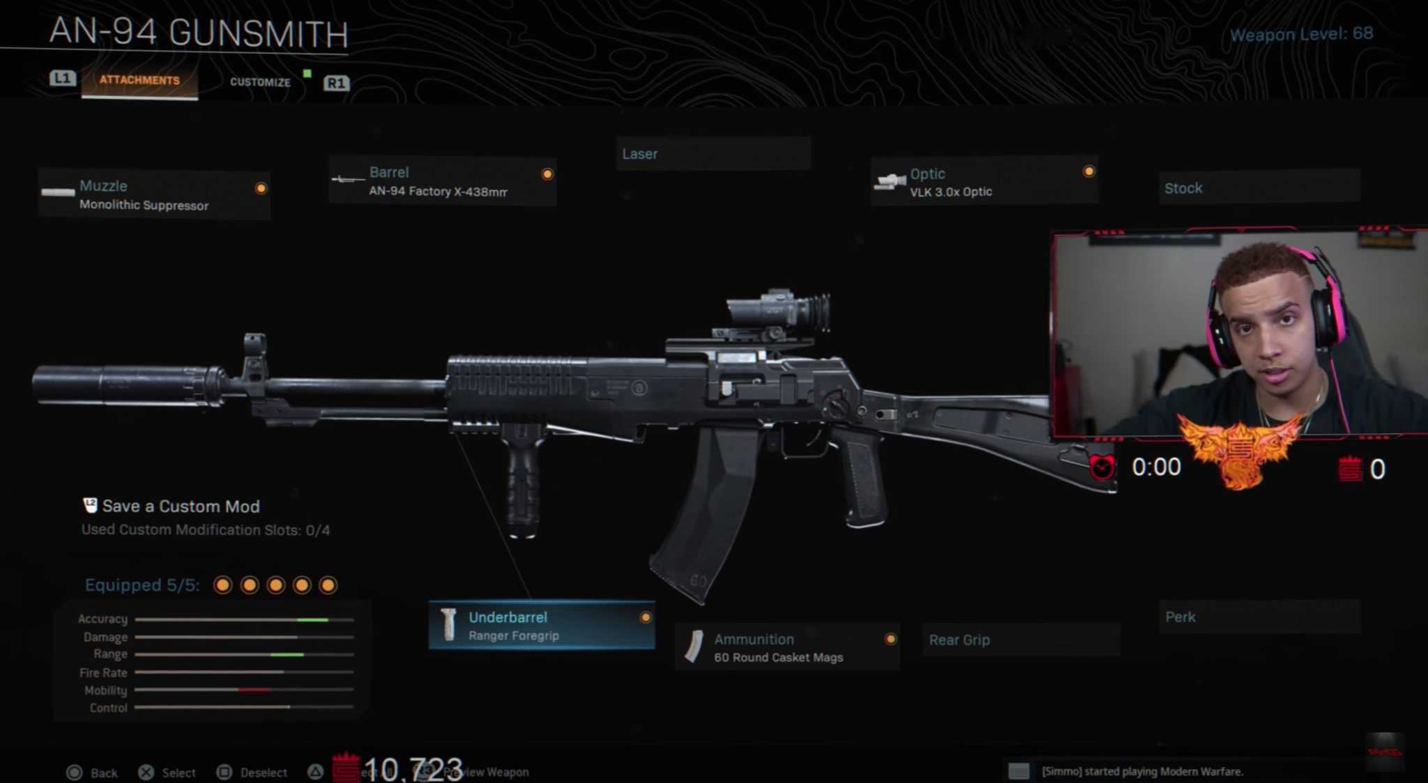 Swagg AN-94 Warzone loadout
