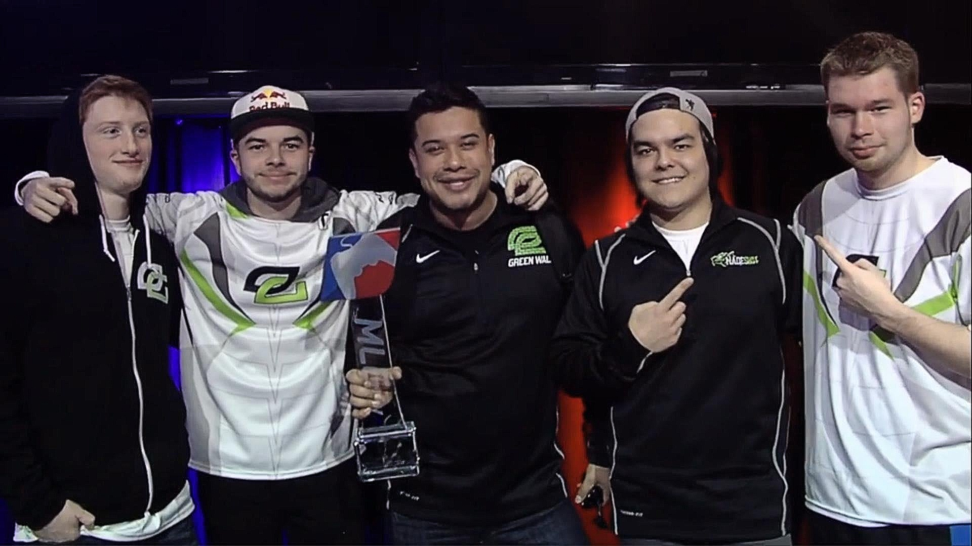 OpTic Gaming MLG win 2015 Scump, Nadeshot, Hecz, Formal, Crimsix