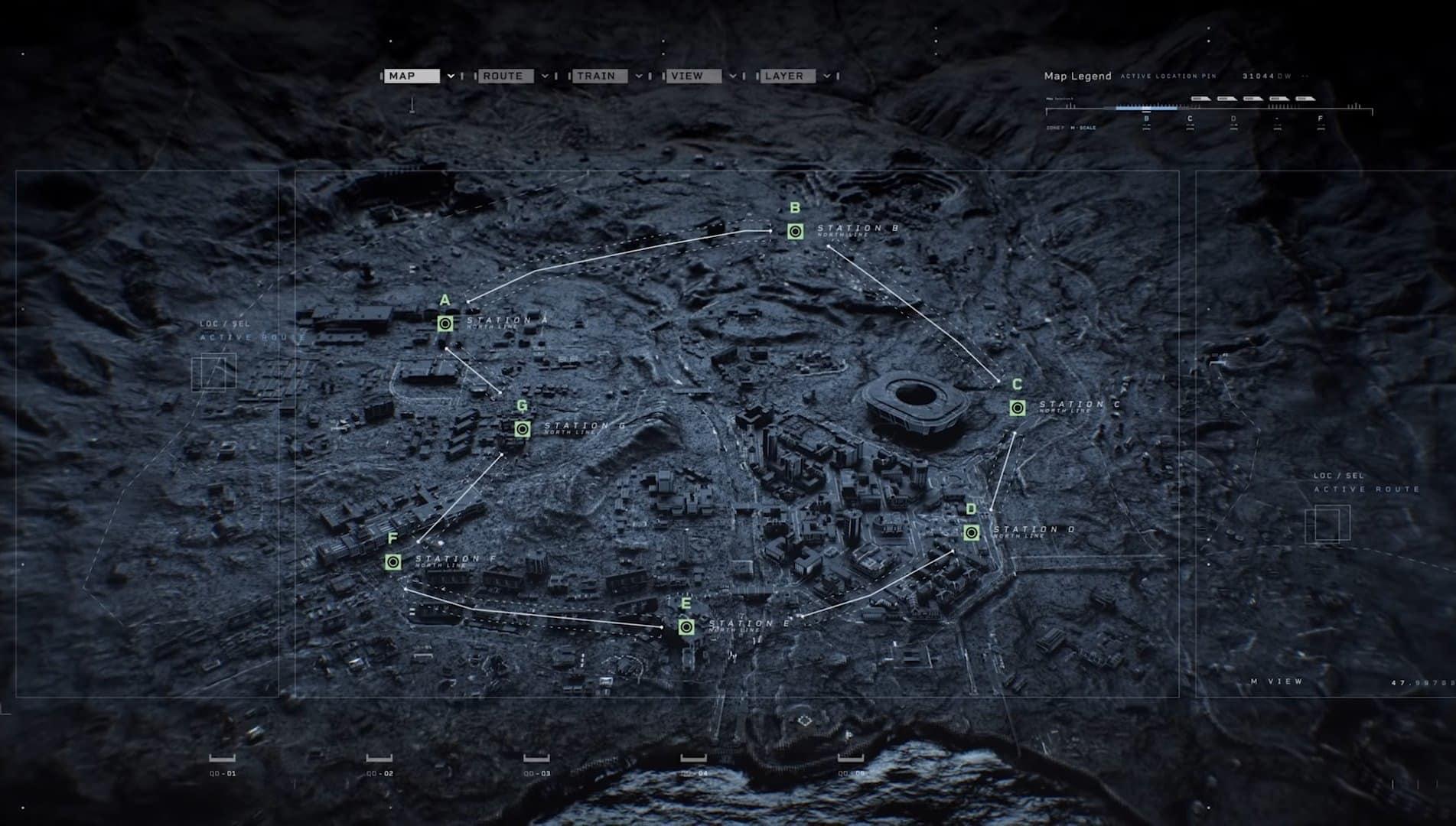 Warzone Season 6 subway locations