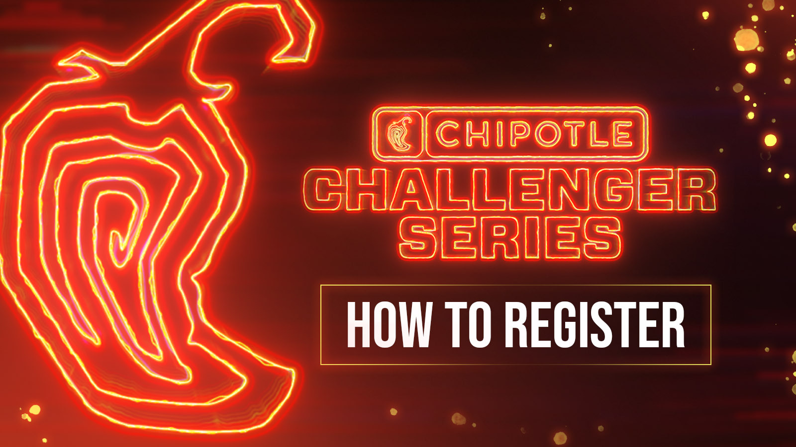 How to register for Chipotle Challenger Series