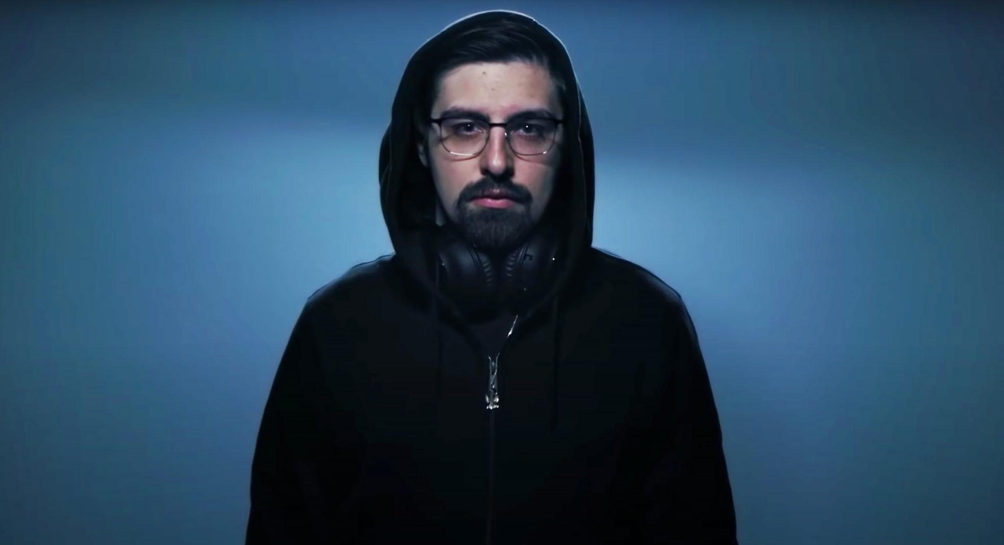 shroud in logitech commercial
