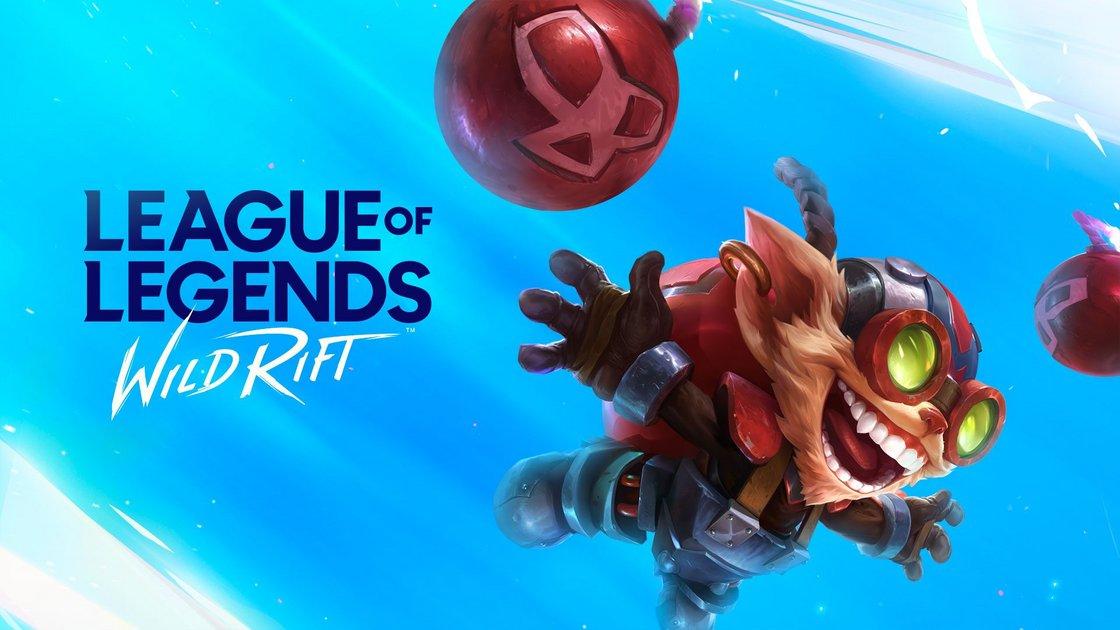 Ziggs on Wild Rift League of Legends banner