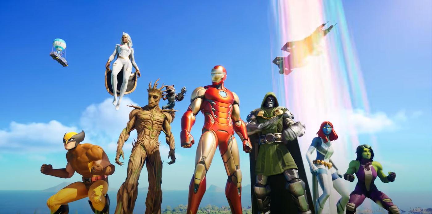 Fortnite Marvel Avengers skins