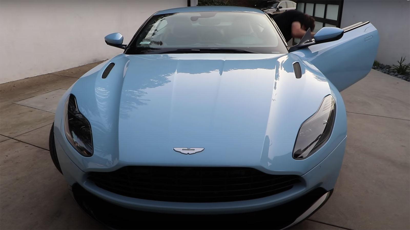 David Dobrik Aston Martin DBS