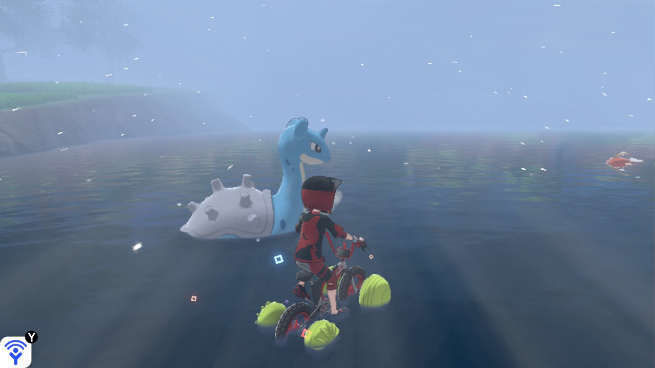 Lapras in the overworld