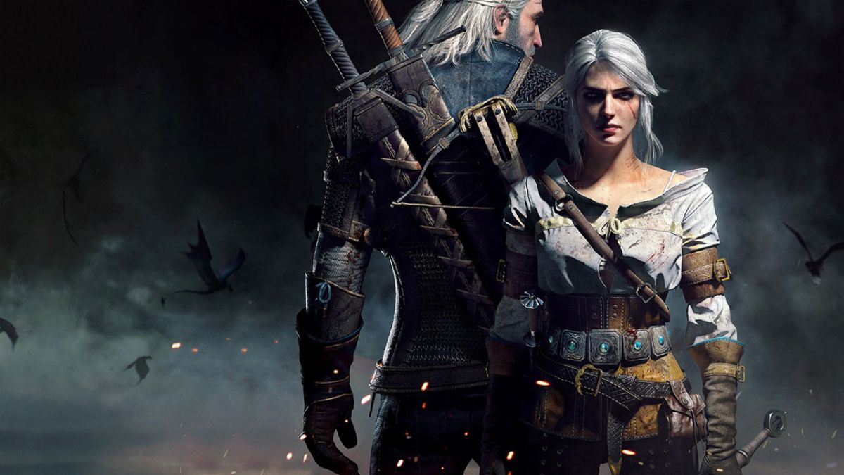 Geralt and Ciri The Witcher 3