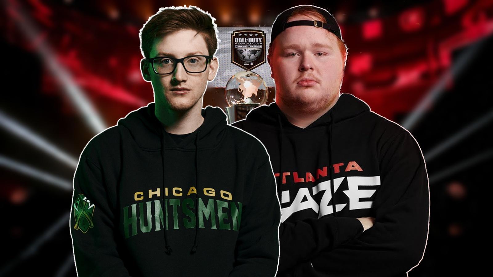 Arcitys and Scump Chicago Huntsmen Atlanta FaZe