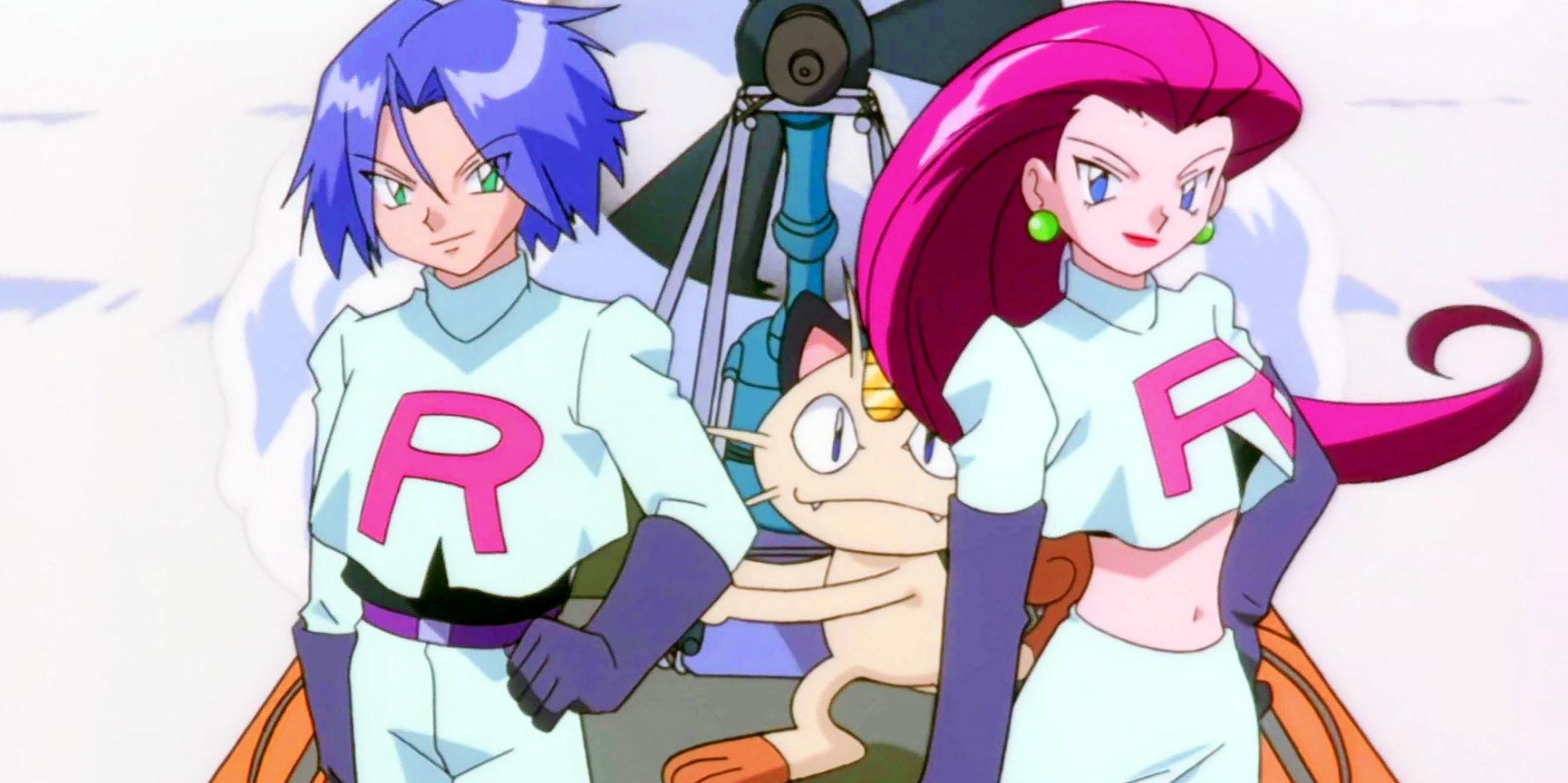 jessie and james in pokemon anime