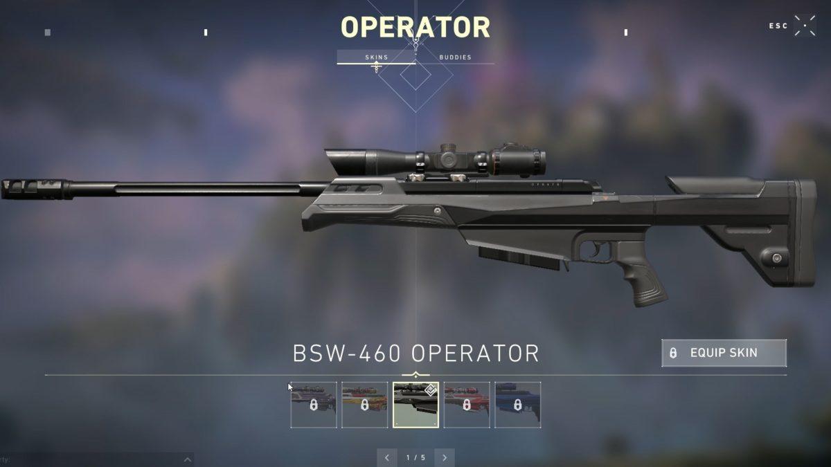 valorant operator