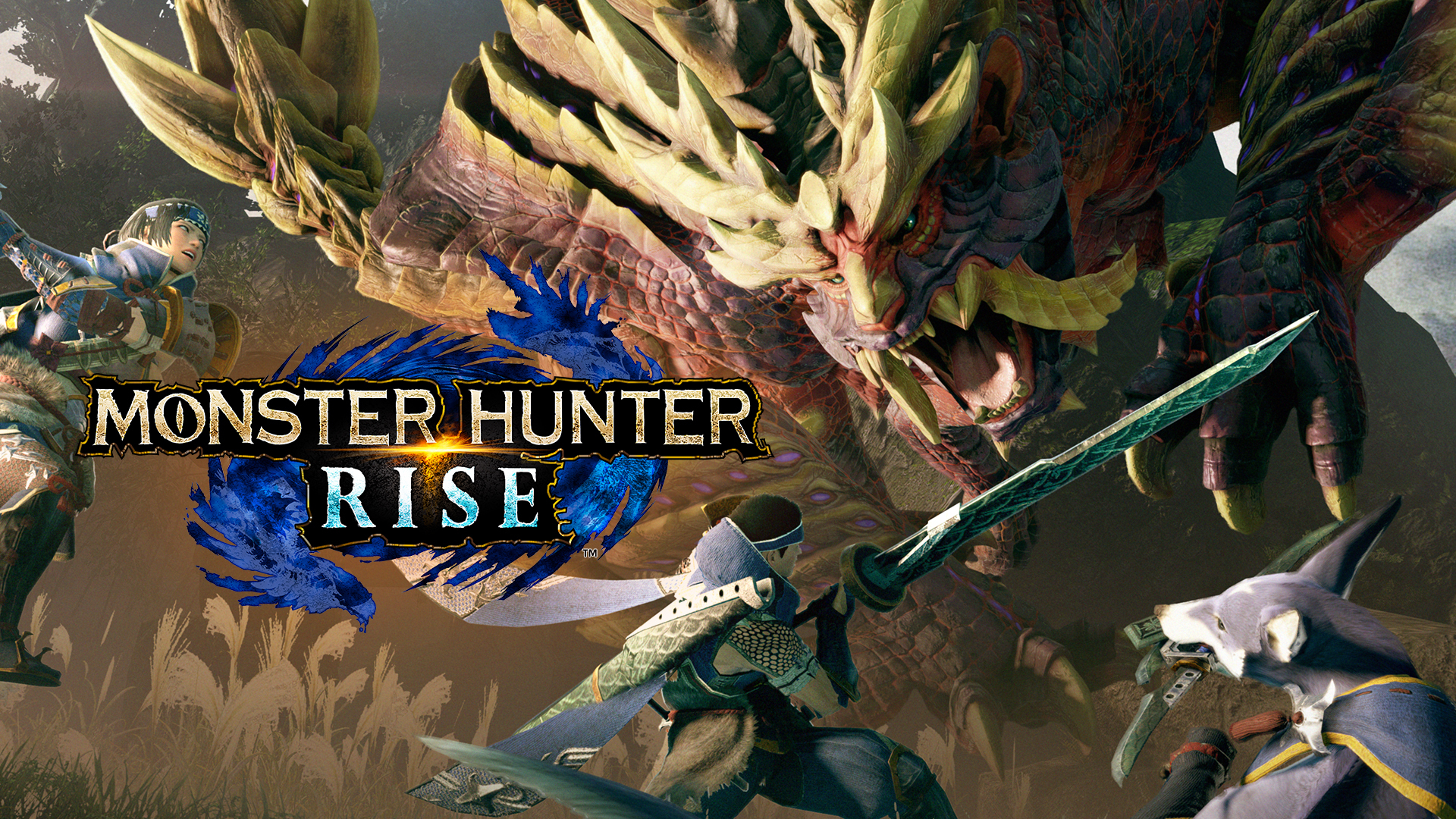 Monster Hunter Rise official artwork