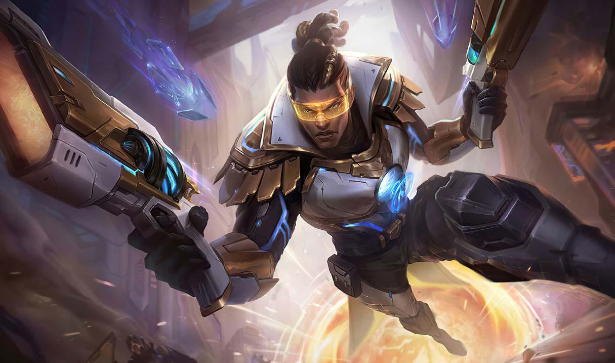 Pulsefire Lucian Prestige skin in League of Legends
