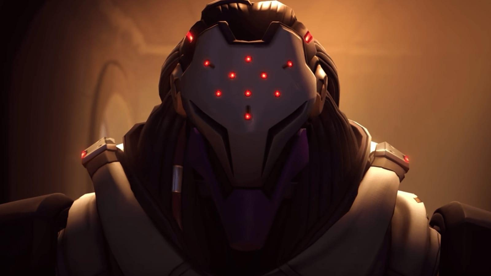 The Omnic at the end of Overwatch Storm Rising