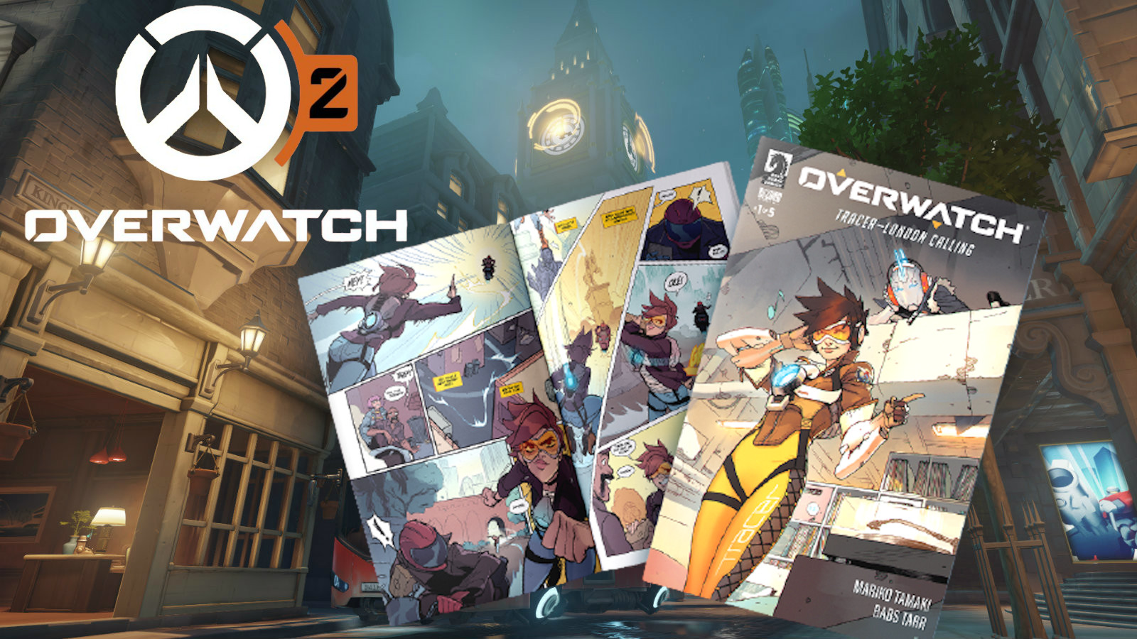 Tracer Overwatch 2 Dark Horse comics