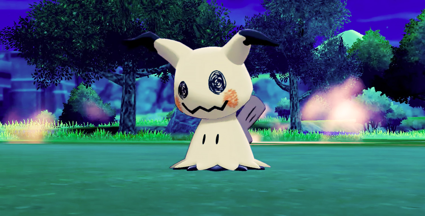 mimikyu pokemon sword shield