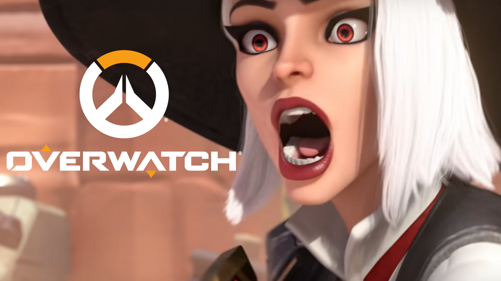 Ashe gasps in Overwatch