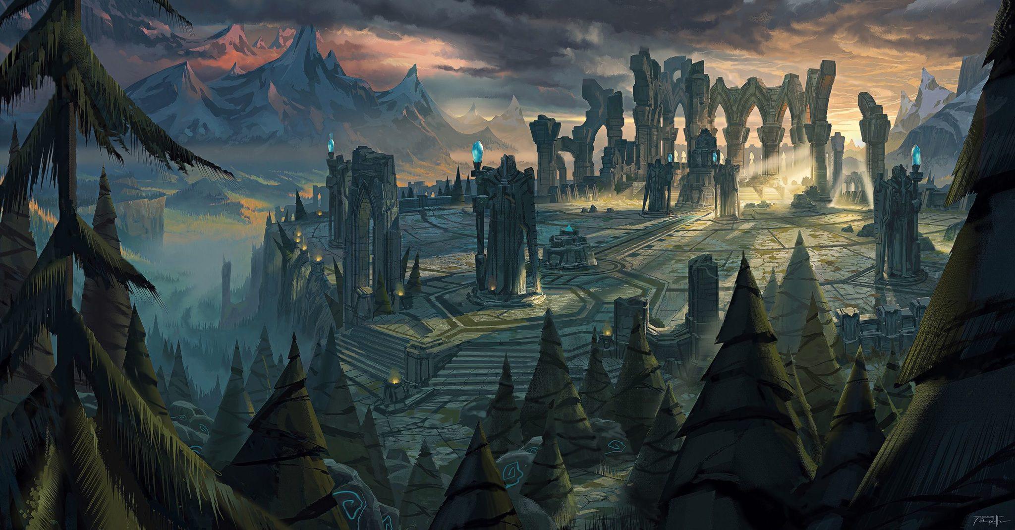 League of Legends map