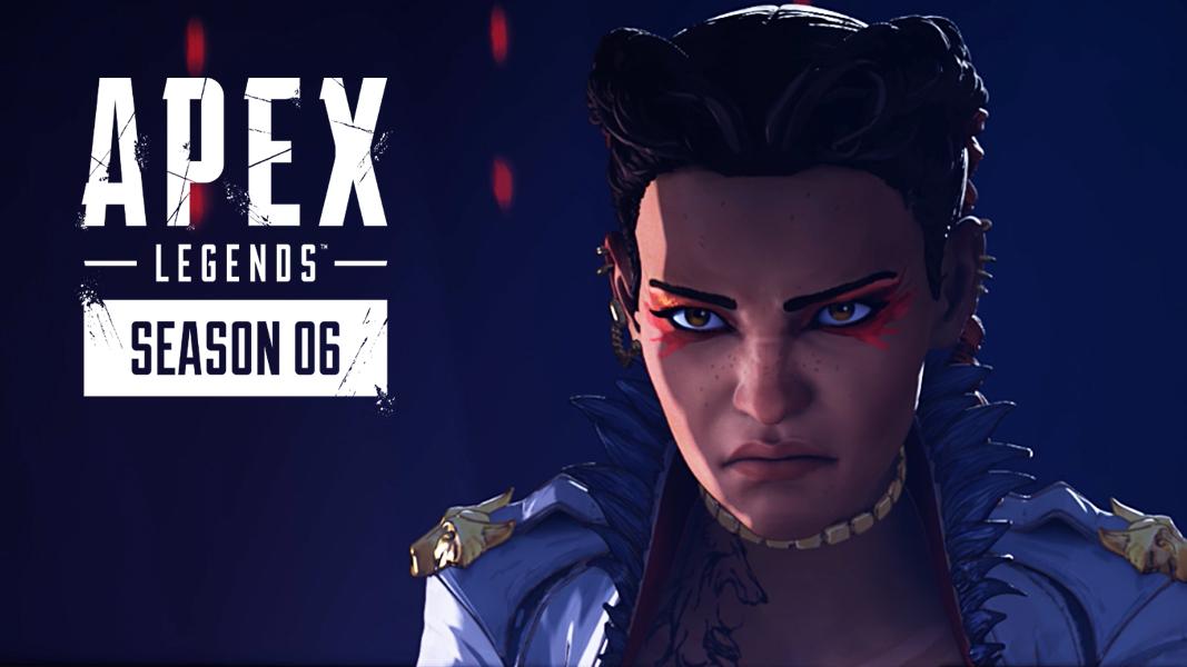 Apex Legends' Loba next to logo