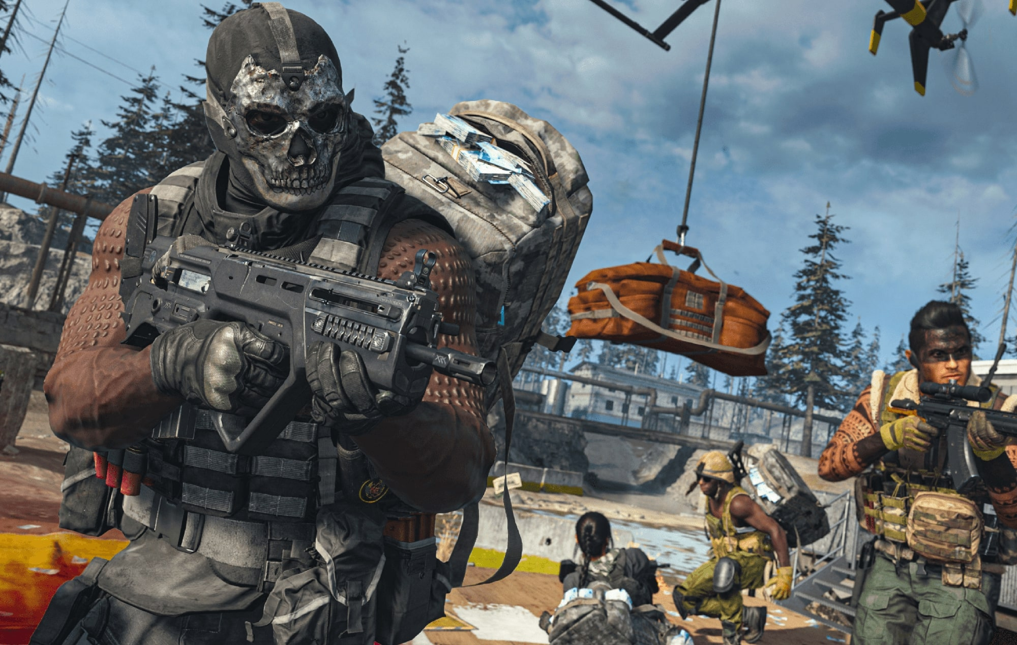 Call of Duty Warzone header art